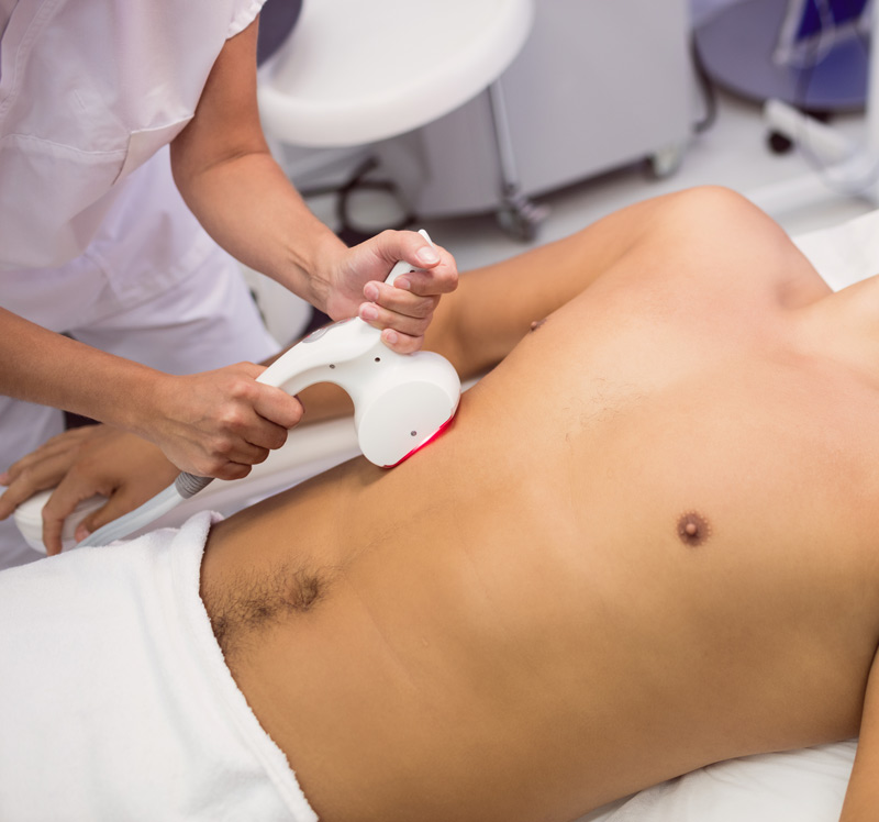 Chest hair removal at Elixir Islamabad